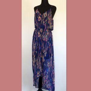 Lush Floral Maxi Dress, L